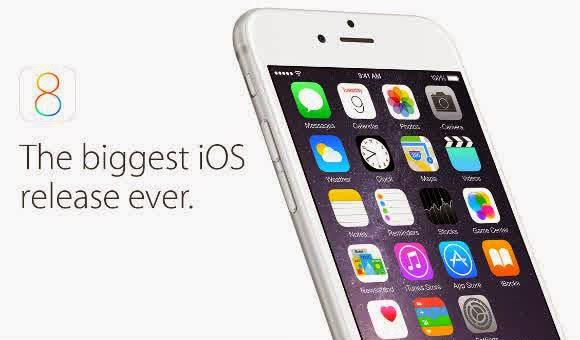 iOS 8 Sudah Berjalan di Lebih Dari 16% Device | OS Terbaru!