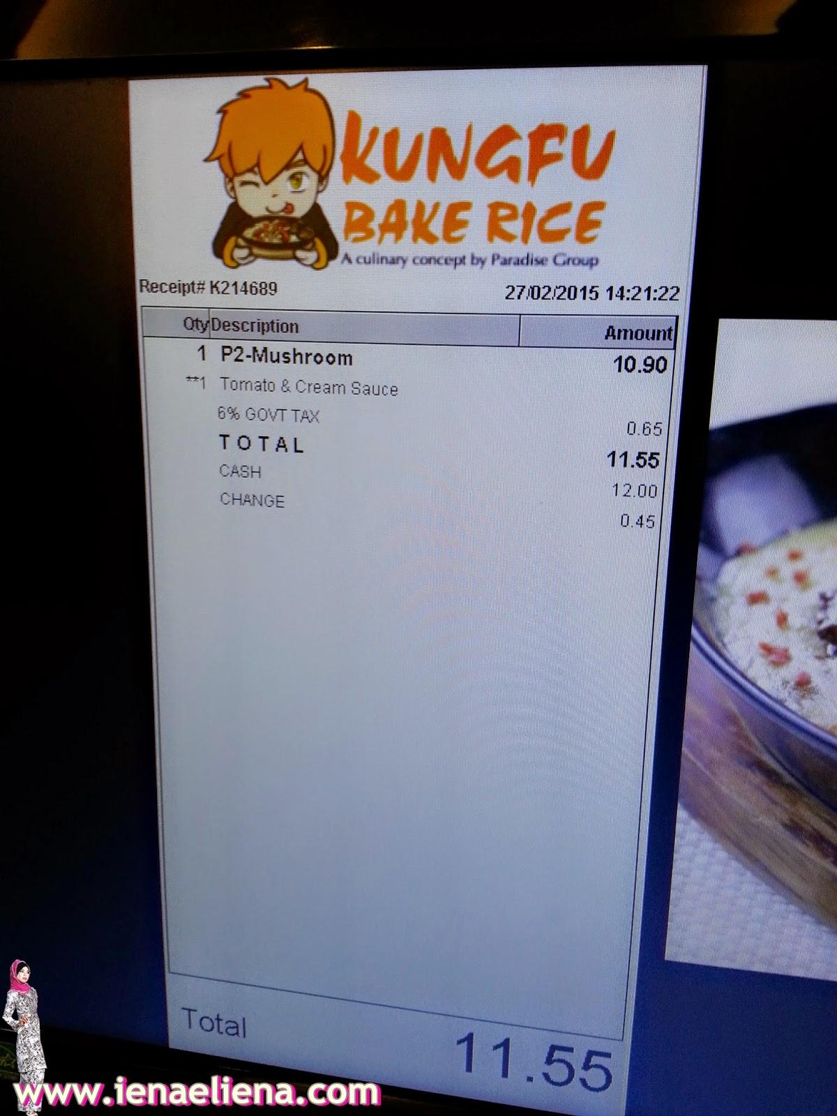 Kungfu Bake Rice KLCC