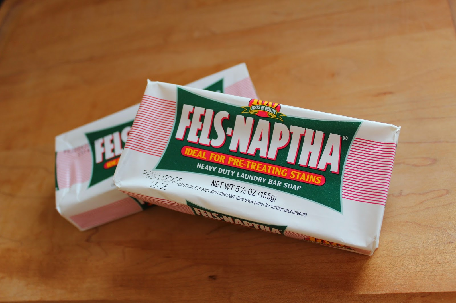 How to pretreat stains with Fels-Naptha
