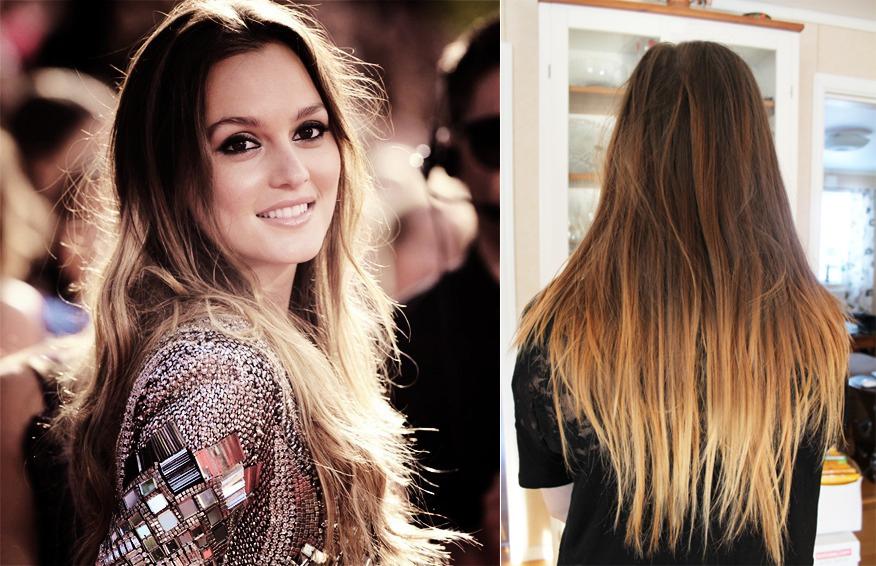 """Super Ombré hair / tie and dye """"inversé"""", fait ! - Coiffure et  MU13"""