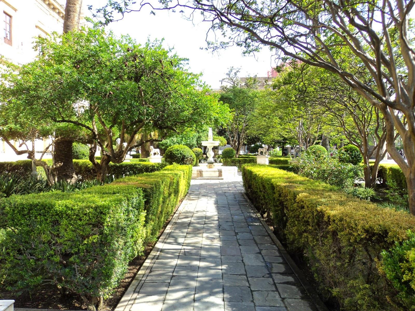 Cultura de sevilla las misteriosas desapariciones en los jardines de la lonja - Jardines de sevilla ...