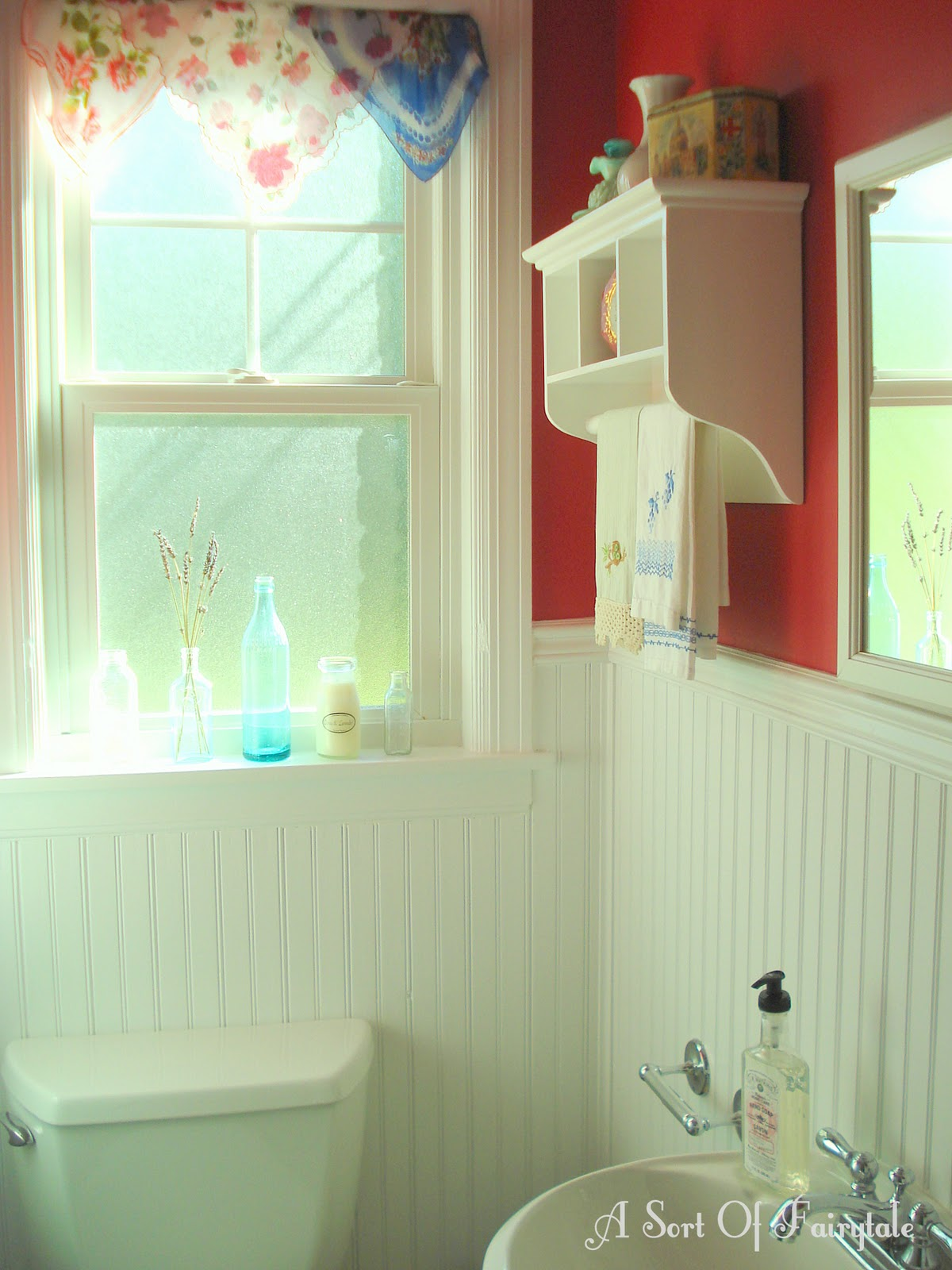 A Sort Of Fairytale: A {Sort Of} Fairytale Bathroom Makeover