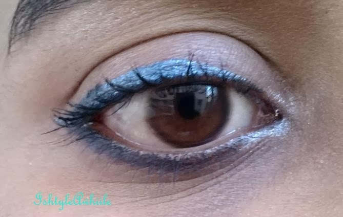 For the love of Metallic eyeliners. EOTDs. image