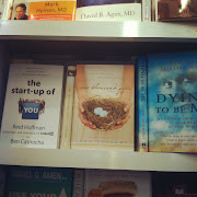 Ann's book at LaGuardia airport. Comforting to see. (img )