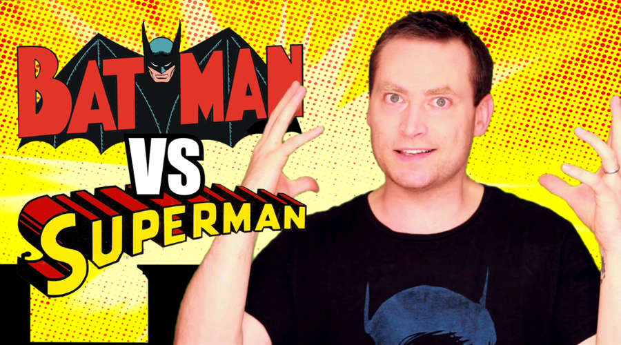 Jake weighs in on the ages-old debate of who would win in a brawl, The Dark Knight or the Man of Steel?