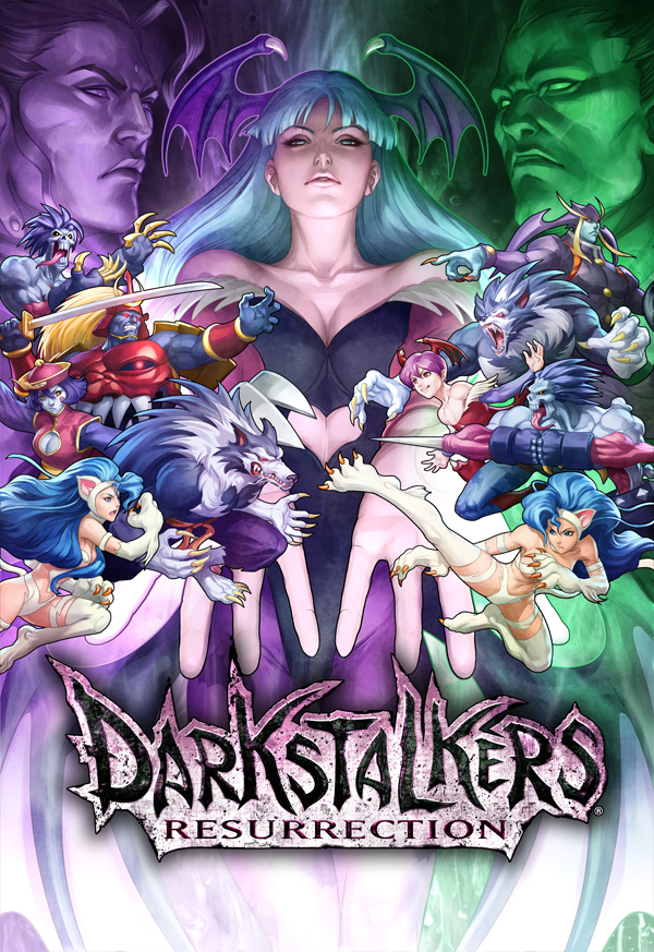 Darkstalkers Resurrection - Portada