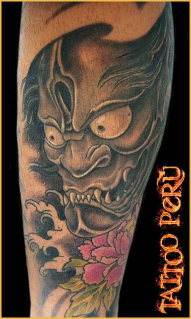 Tatuajes: Historia de los Tatuajes. Demonio_con_estilo_realista