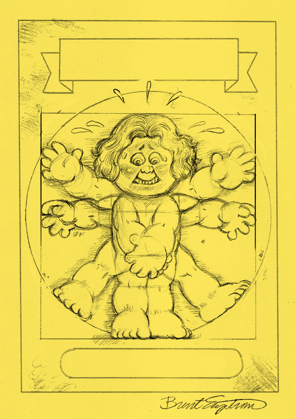 garbage pail kids coloring pages - photo#30