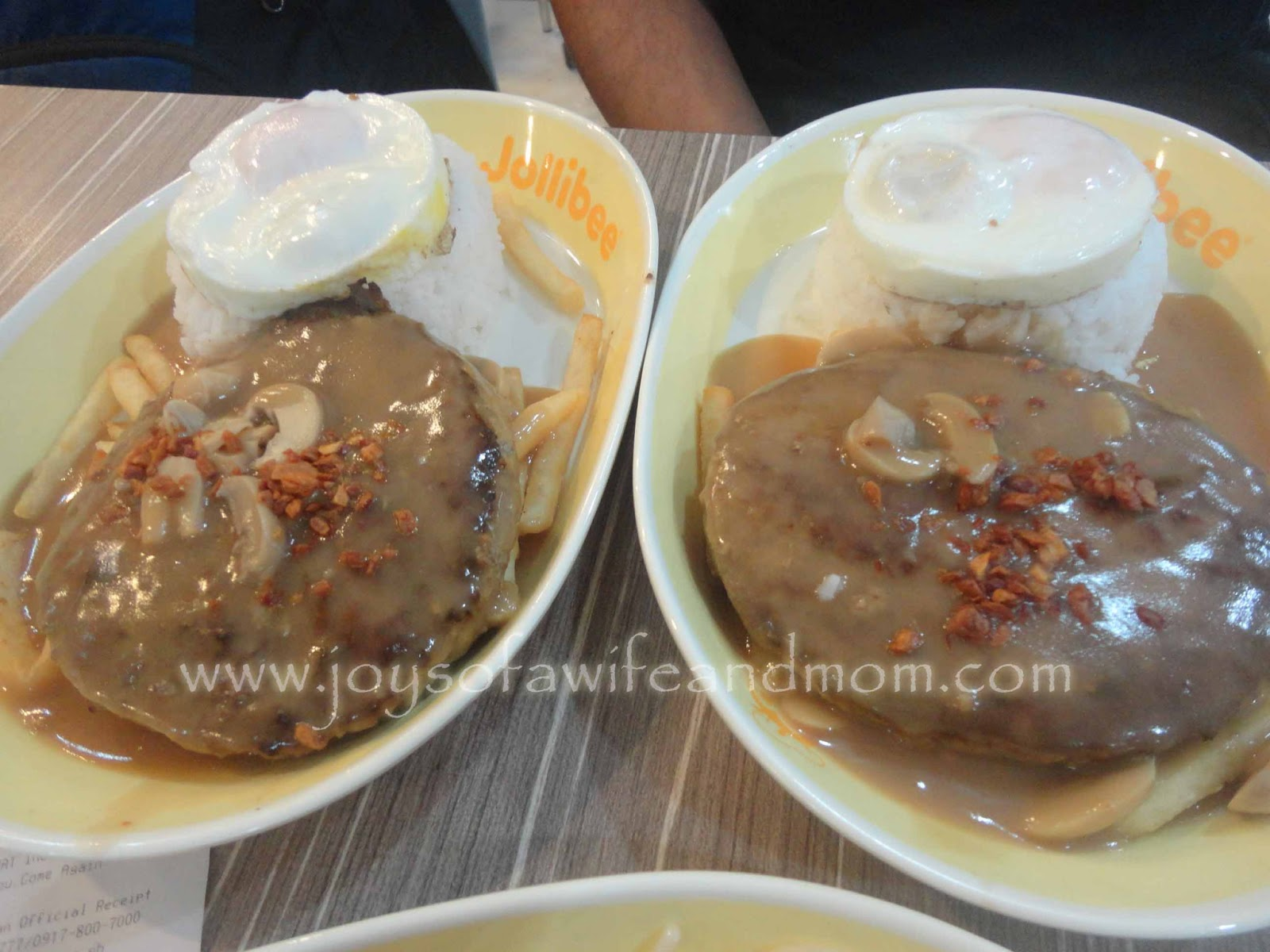 Jollibee's Ultimate Burger Steak Meal