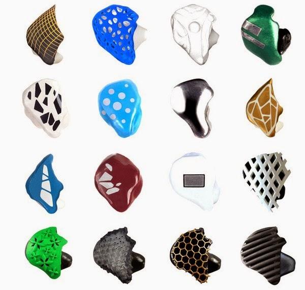 một số mẫu thiết kế tai nghe ownphones