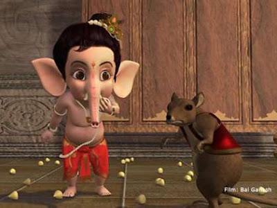 Download images of cute balganesha and vahana mooshika