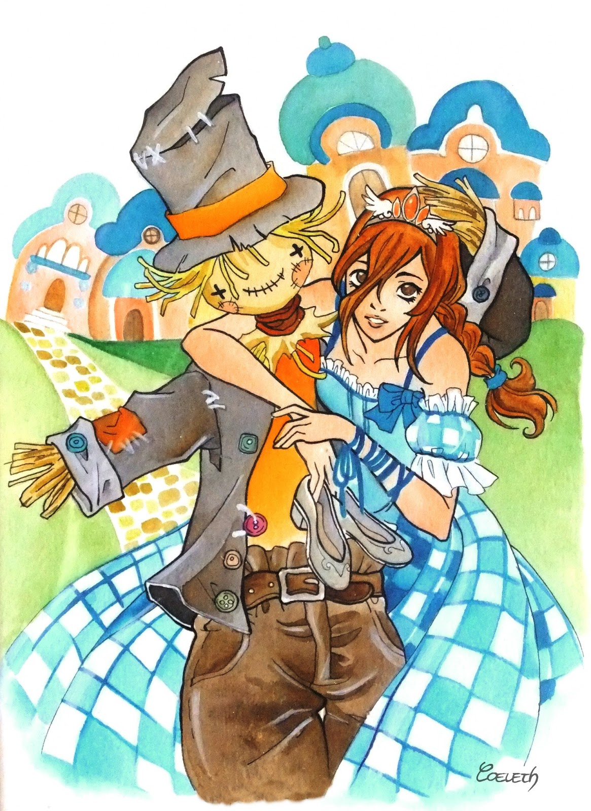 Dorothy e lo Spaventapasseri