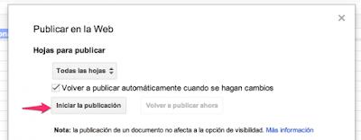 """Insertar en Web Documento de Google Drive4"""