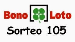 Bonoloto del miércoles 2 de julio de 2014, sorteo 105