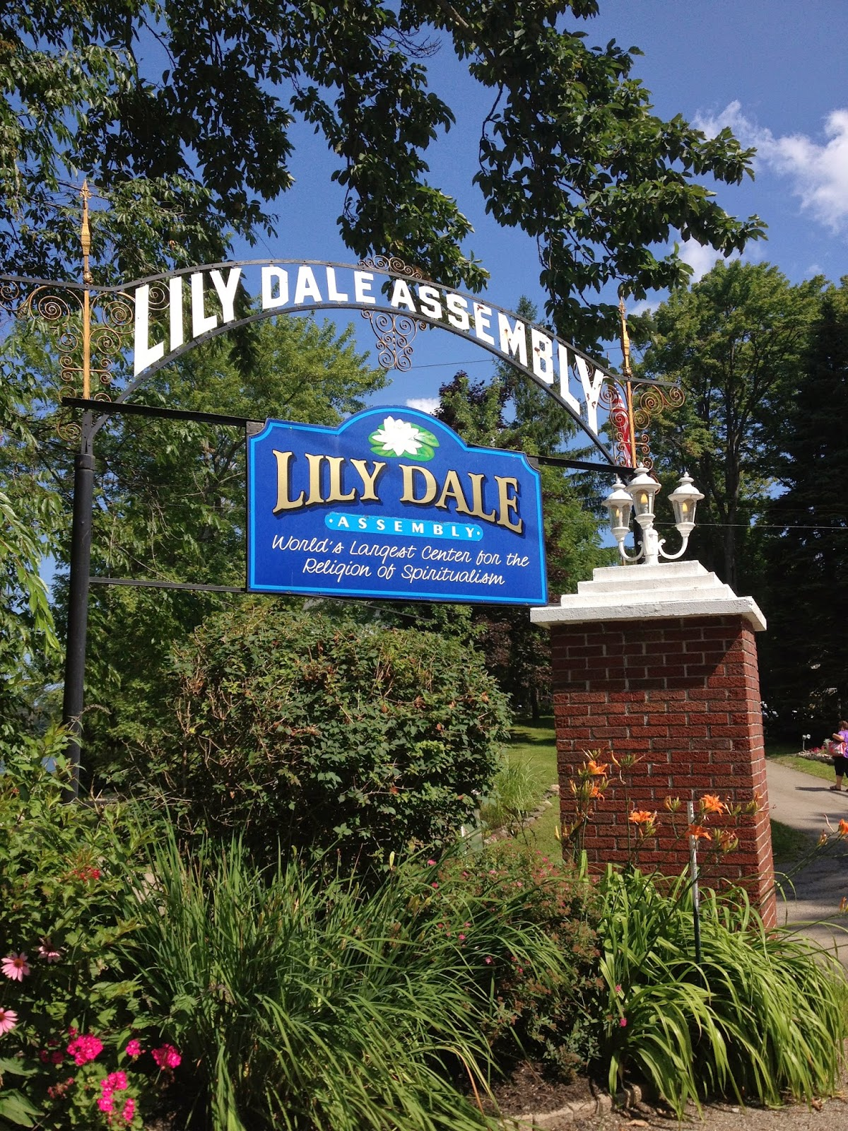 Anyway, Allu0027s Well That Ends Well And We Finally Made It. Welcome To Lily  Dale.