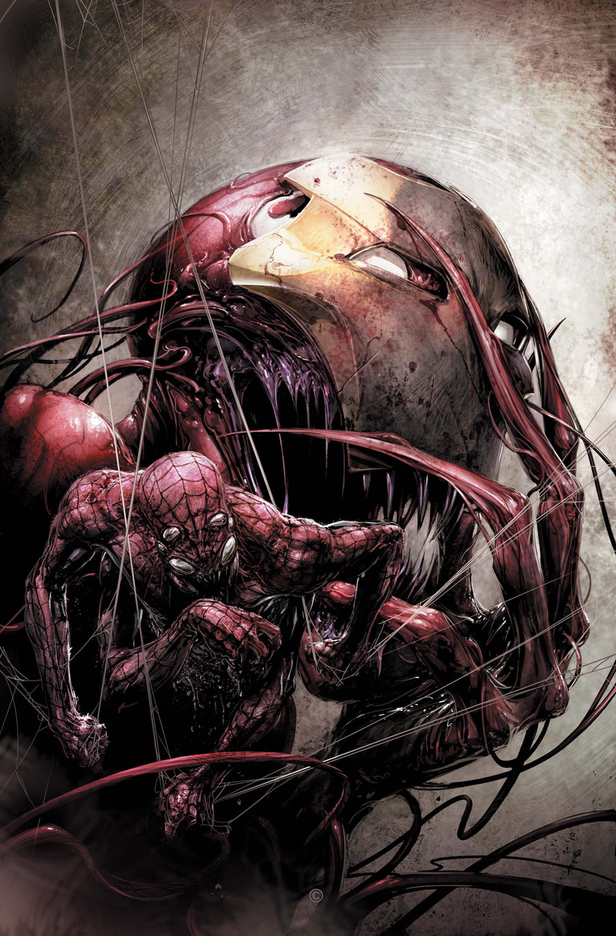 Spiderman vs carnage drawings - photo#20
