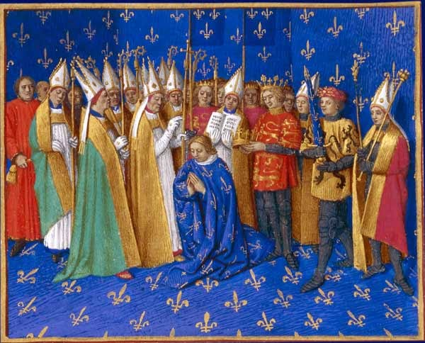 The 15th century depiction of Henry the Young King