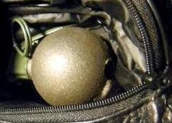 Grenade Discovered at LAS
