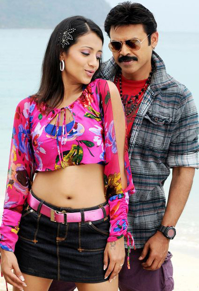trisha krishnan venkatesh namo venkatesa movie stills pictures