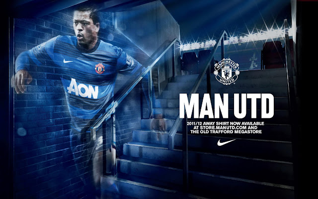 Manchester United Jersey 2011-2012 Wallpaper