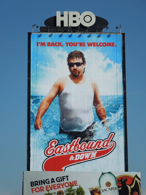 Eastbound and Down season 3billboard