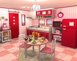 Juegos de Escape Fruit Kitchen 1 - Strawberry Red