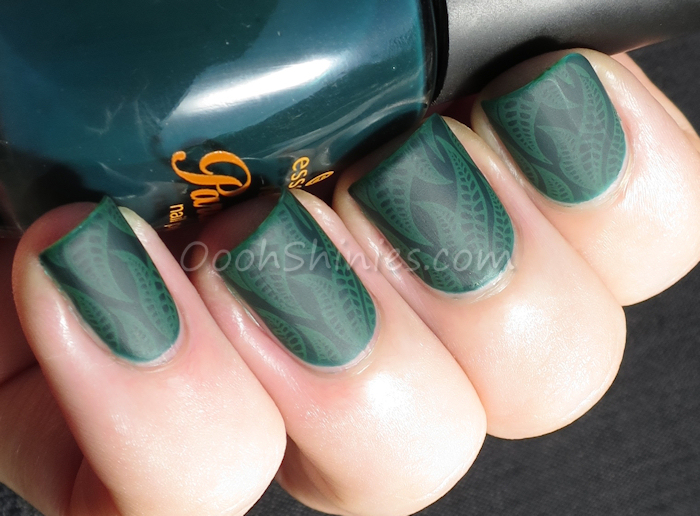 Essence Back To Paradise with Konad Green, BM-501 and BPS Super Matte