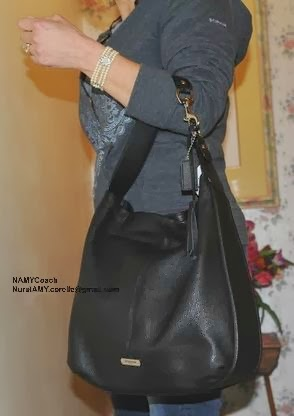 COACH AVERY LEATHER HOBO Expected release date is 15th Feb 2014