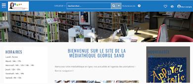Accès au site portail de la médiathèque :