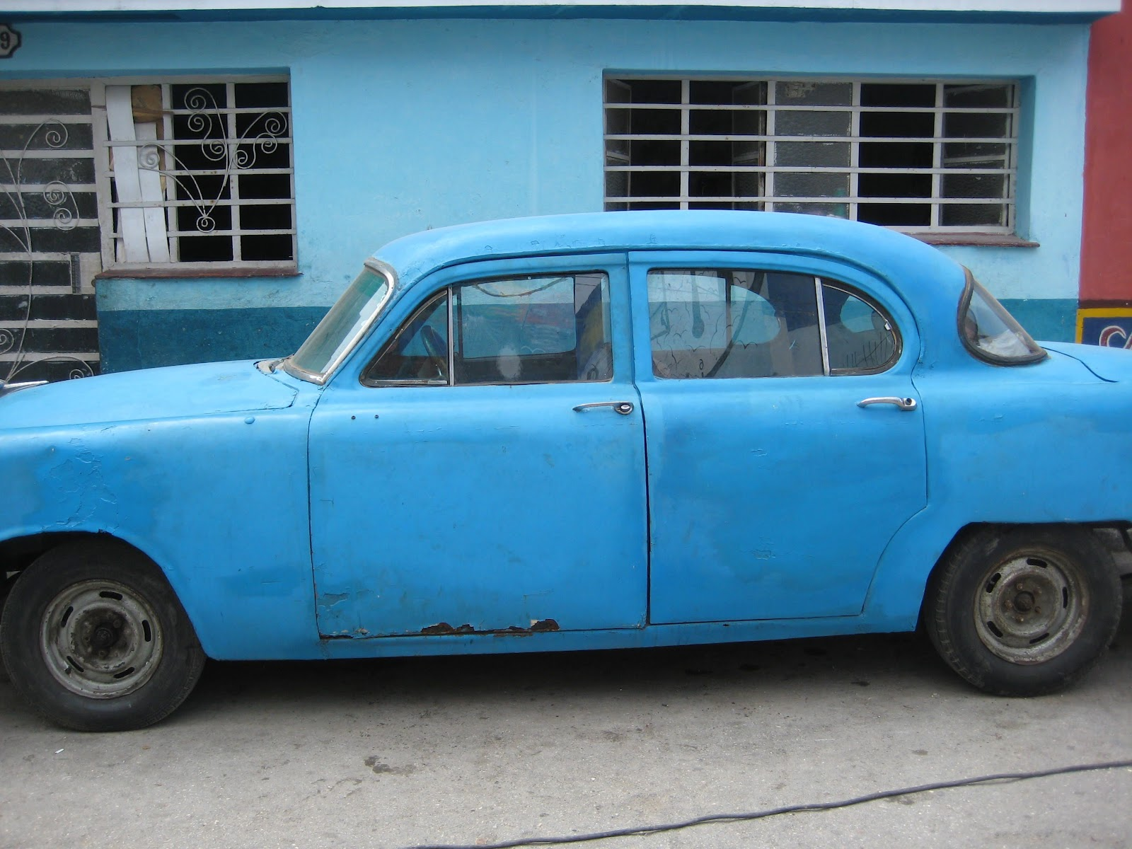 One Week in Cuba: Old Cars in Cuba. Restored? Not so much.