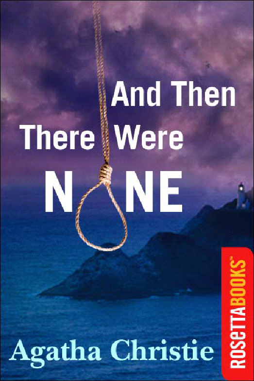 a book report on and then there were none by agatha christie Free summary and analysis of the events in agatha christie's and then there  were none that won't make you snore  when the book opens, a bunch of  people are headed off to this deserted island to see someone they barely know.