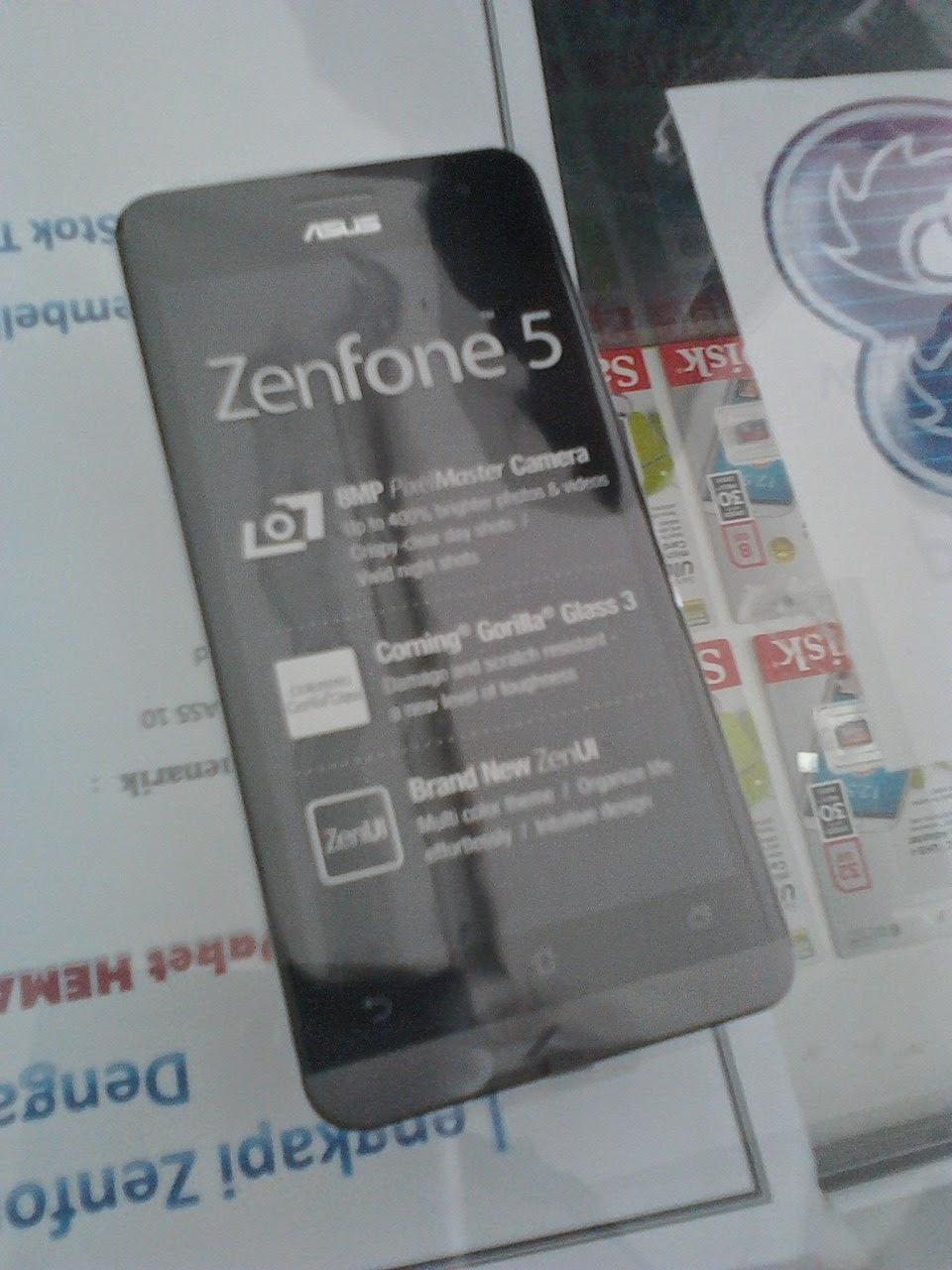 Pengumuman PO Zenfone 5