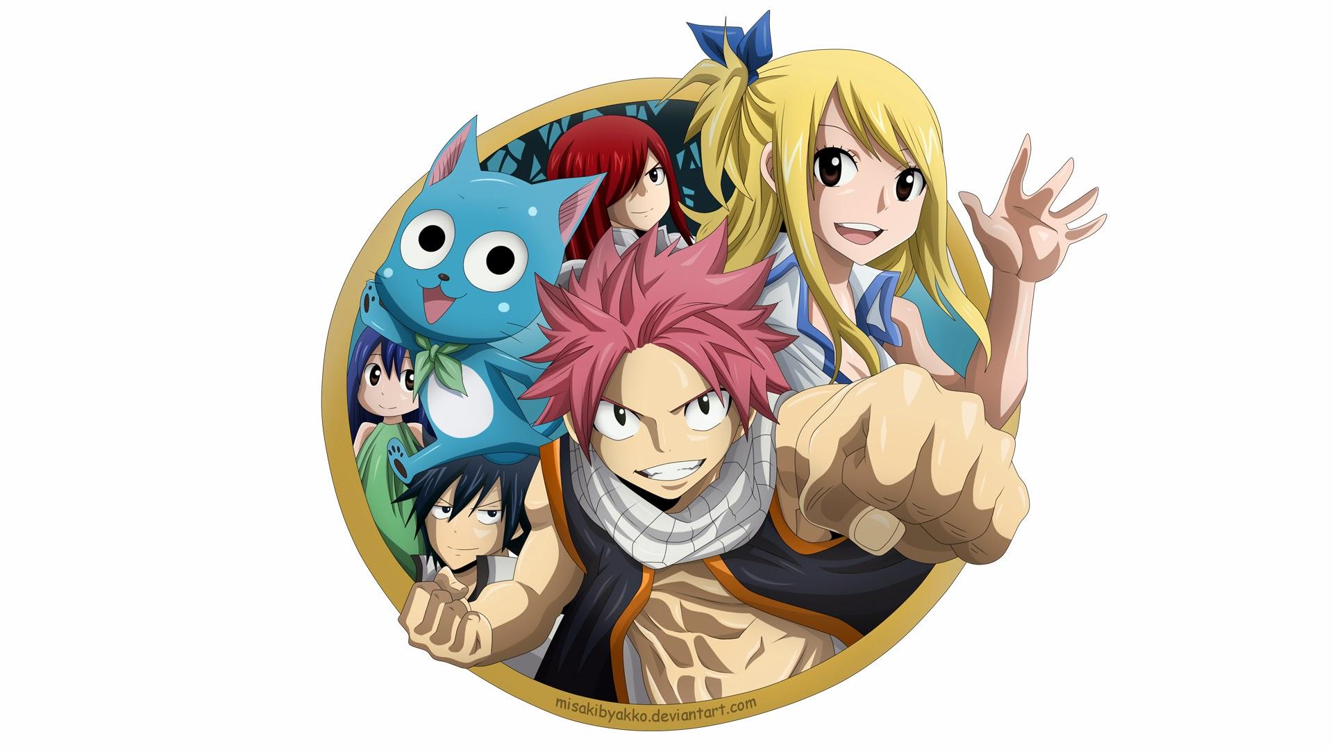 Fairy Tail Anime Image 8k Wallpaper HD
