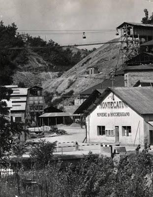 Boccheggiano - Miniera di pirite - Impianto di Rigagnolo