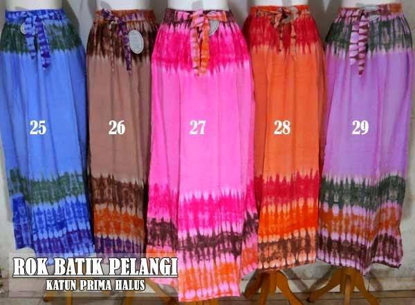 Rok Batik Pelangi Murah