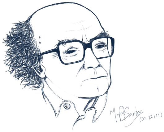 José Saramago Portrait
