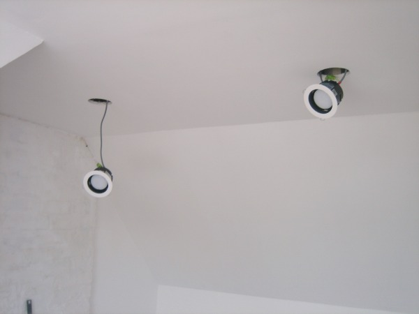 fitting recessed lights - Our Handmade Home