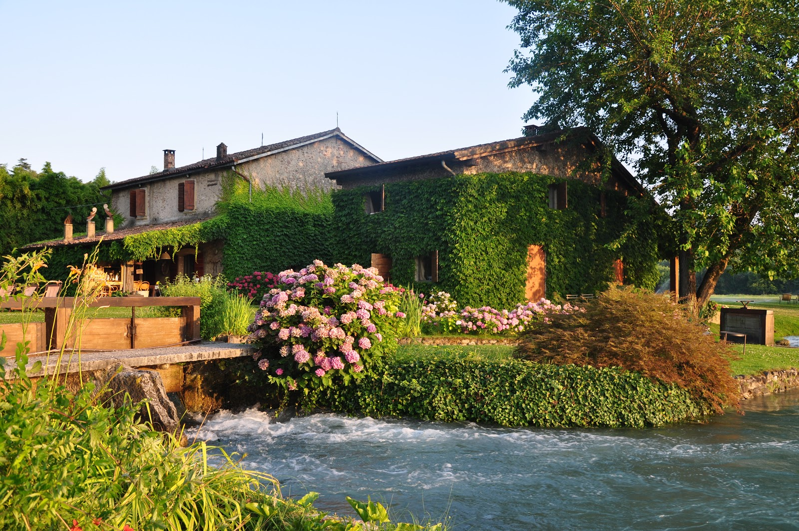 On the other side of the Visconti Bridge lies another medieval B&B, La Finestra Sul Fiume. Photo: Courtesy of La Finestra Sul Fiume.