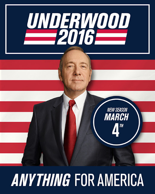 House of Cards saison 4 : Affiche