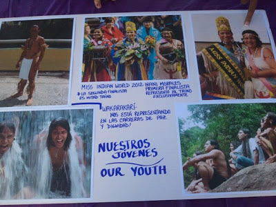 Nuestros jóvenes Taínos