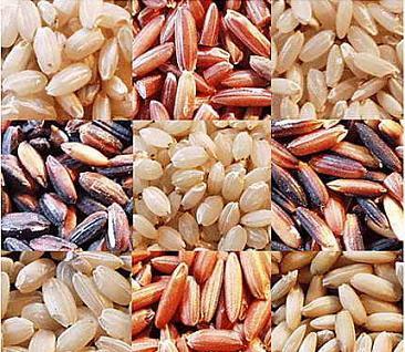 tabla nutricional del arroz