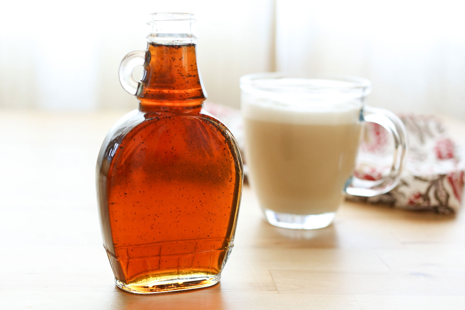 How To Make Vanilla Coffee Syrup - free of preservatives and artificial flavors, for a fraction of the store-bought price!