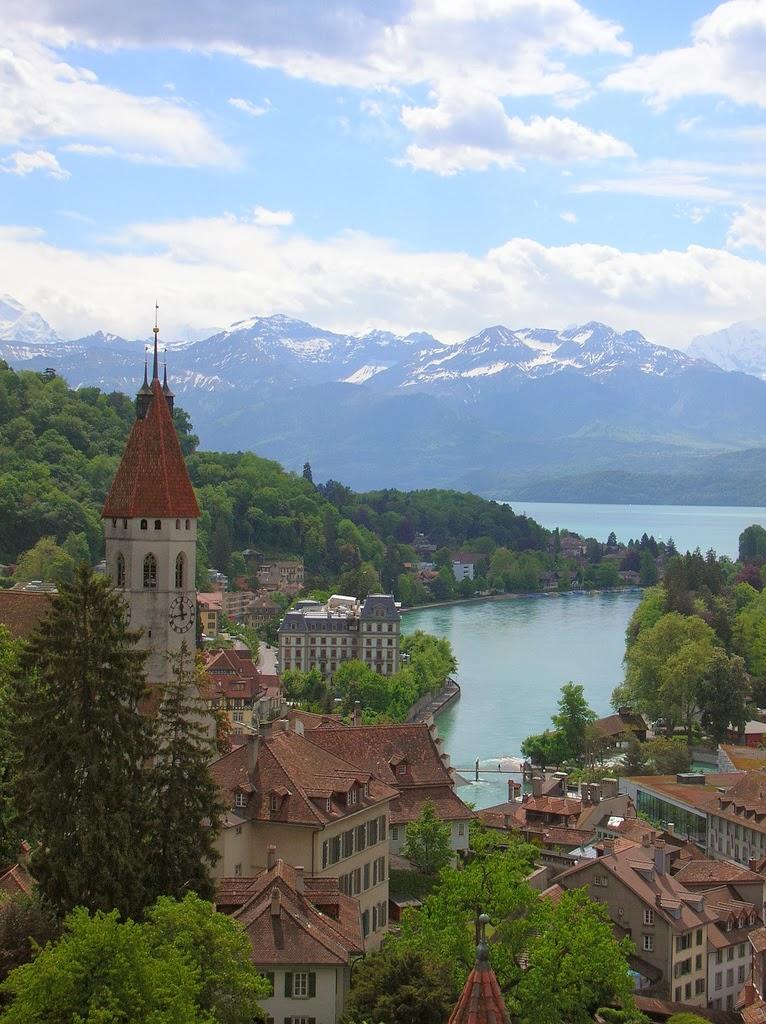 Beautiful Place Mountains, Switzerland