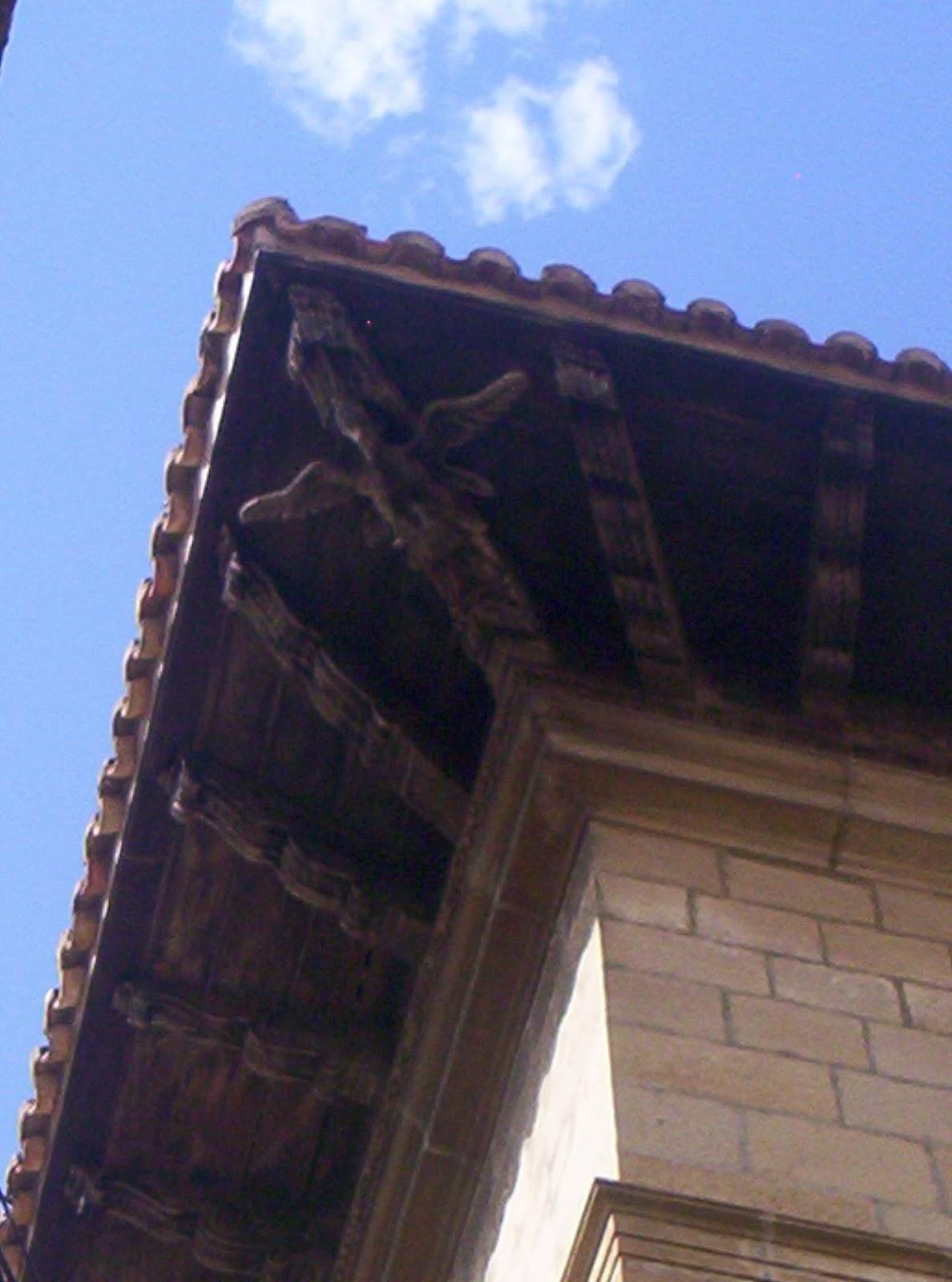 Sos del rey cat lico aleros y tejados - Tejado madera ...