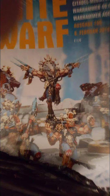 La Compañía Wulfen en portada de la próxima White Dwarf