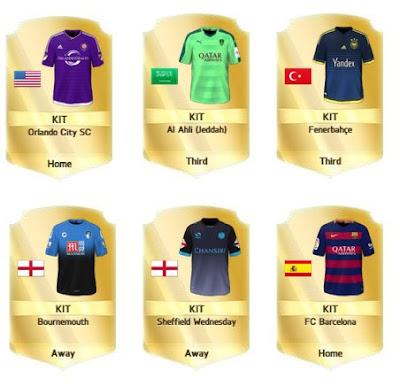 Las mejores equipaciones FIFA 16 Ultimate Team, camisetas más bonitas chulas espectaculares originales FUT 16, Alex Morgan
