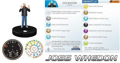 Comic-Con Episode IV: A Fan's Hope DVD & Heroclix Combo Pack - Joss Whedon Heroclix