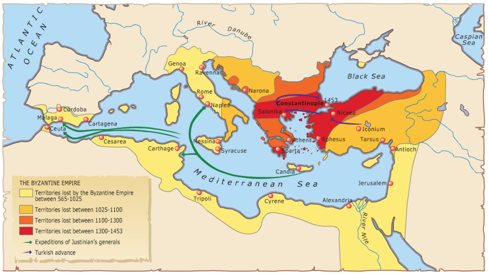 the archaeological data on the byzantine empire However, in the sixth century, as the roman empire was crumbling, the grand palace and massive warehouse were abandoned, with the structures appearing to vanish by this time, the roman empire had been divided into two halves with byzantium (constantinople) as its capital, the byzantine empire became its eastern.