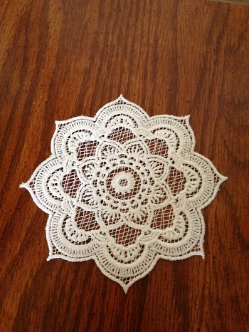 More Machine Embroidery Free Standing Lace Coasters Embroidery It