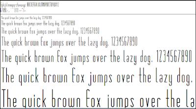 Memilih font dengan cerdas